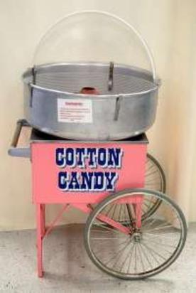 Pinkie Floss Cart