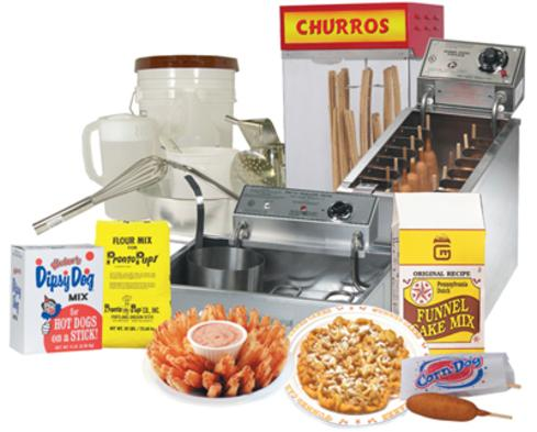 Funnel Cake Supplies
