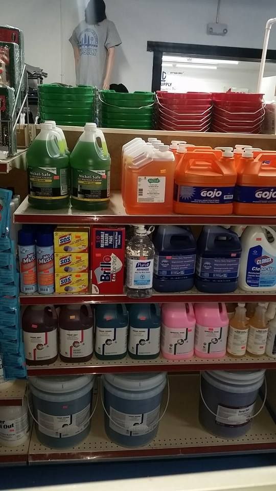 Come see our selection of Industrial cleaners in bulk sizes with value prices