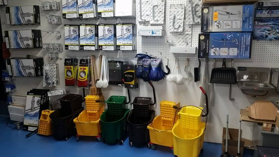 Janitorial Mop Buckets
