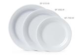 Melamine White Round Plate