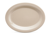 Melamine Tan Oval Platter