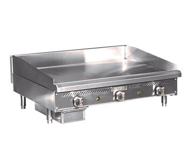 "Royal Range RSMG-48 - Snack Griddle, Gas, countertop, 48"" wide"