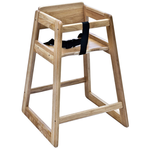 Woodrow Stackable Wood High Chair