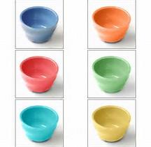 Ceramic Baypoint Dessert Bowls