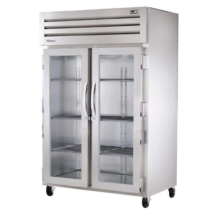 True STA2HPT-2G-2S Specification Series Solid and Glass Door Pass-Through Heated Holding Cabinet