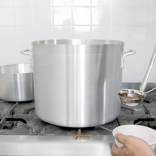 32 Qt. Standard Weight Aluminum Stock Pot